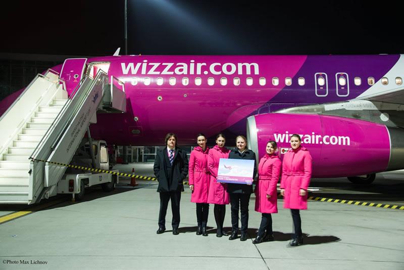 Wizz Air запускает 4 новых рейса из Киева и Львова и размещает 4-й самолет на киевской базе
