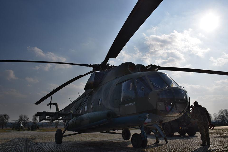 Идет подготовка ротации 18-го вертолетного отряда