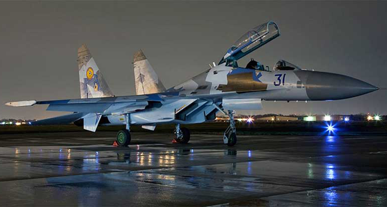 Укрспецэкспорт поставил ВВС США запчасти к Су-27