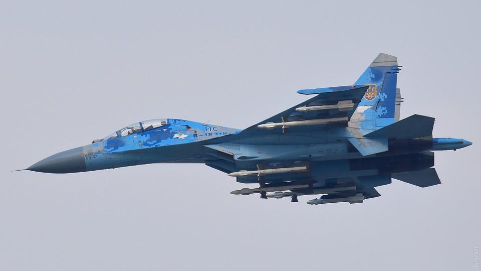 """""""Авиашоу"""" устроили Воздушные Силы в Одессе"""