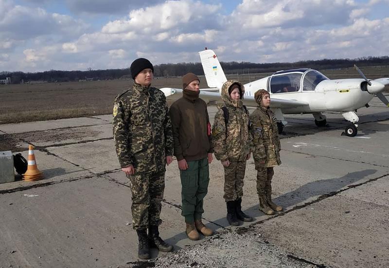 Полеты с кадетами авиационного учебного кадетского центра имени Даниила Дидика