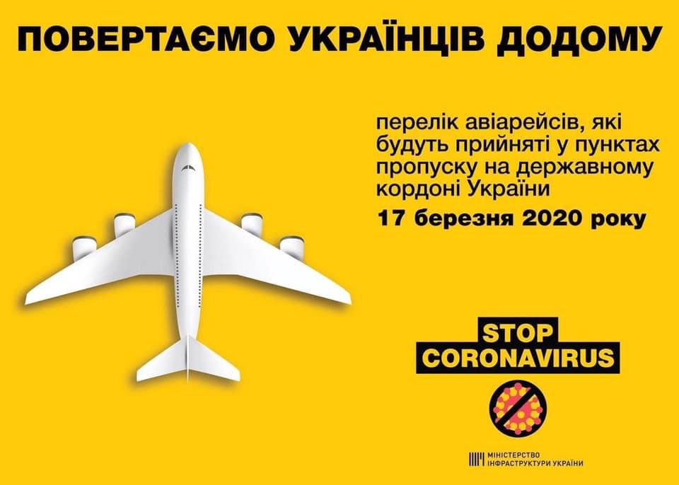 Какие авиарейсы будут приняты 17 марта