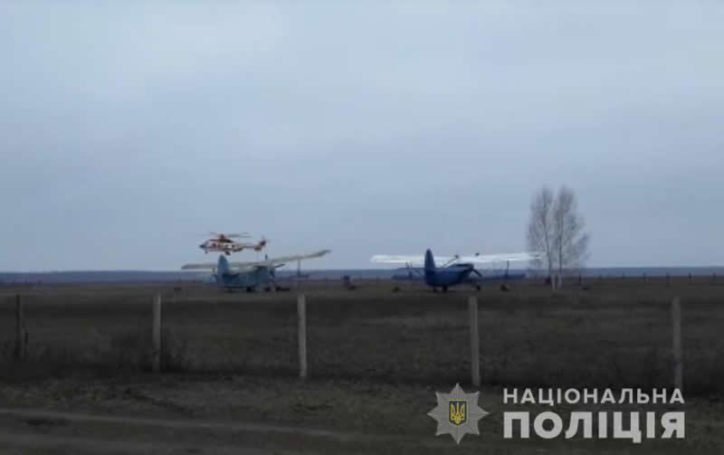 Полиция ищет рыбаков с помощью авиации