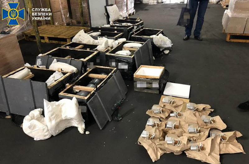 СБУ блокировала нелегальный вывоз за границу комплектующих к военной технике