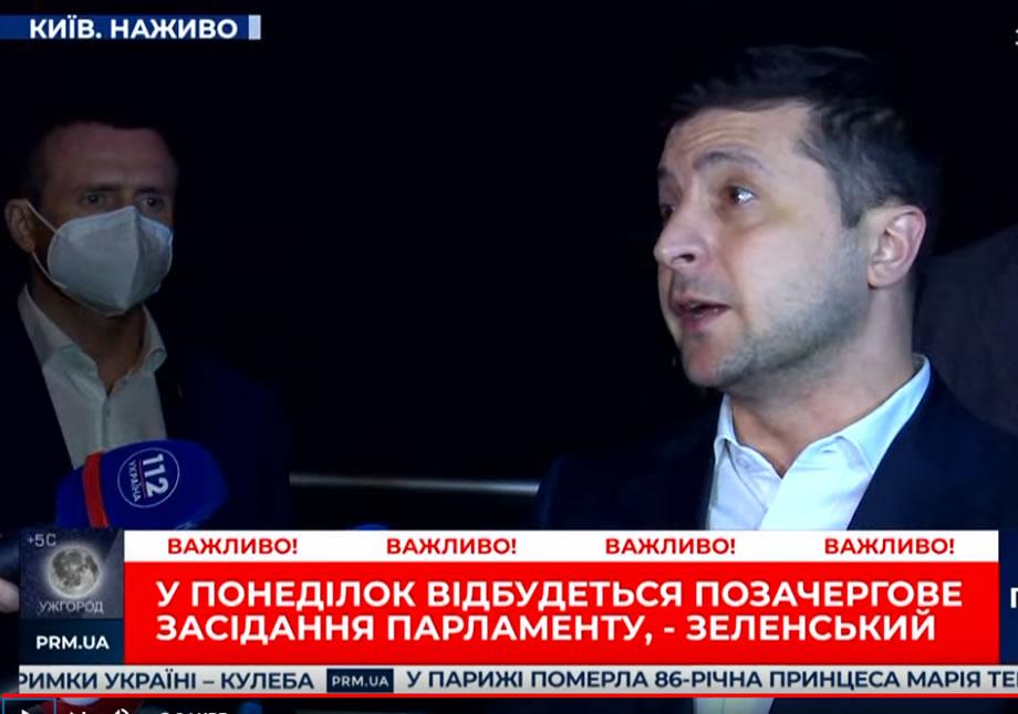 Зеленский рассказал, как каждый день отправляет самолеты за масками