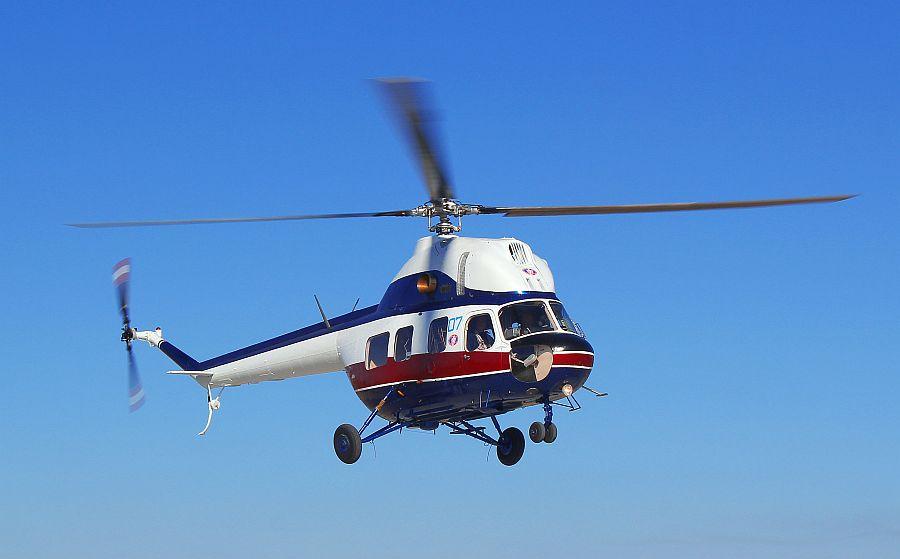 Модернизированный вертолет Ми-2 преодолел высоту 7 тысяч метров