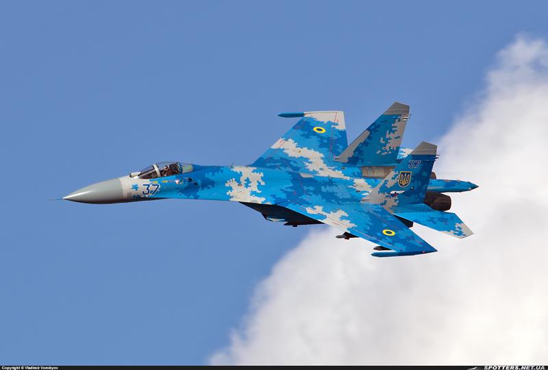 Су-27 ВВС Украины, март 2015 (с)Spotters.net.ua