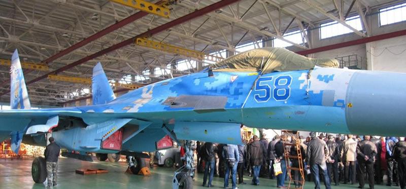 Передача ВВС Украины очередного восстановленного «борта»