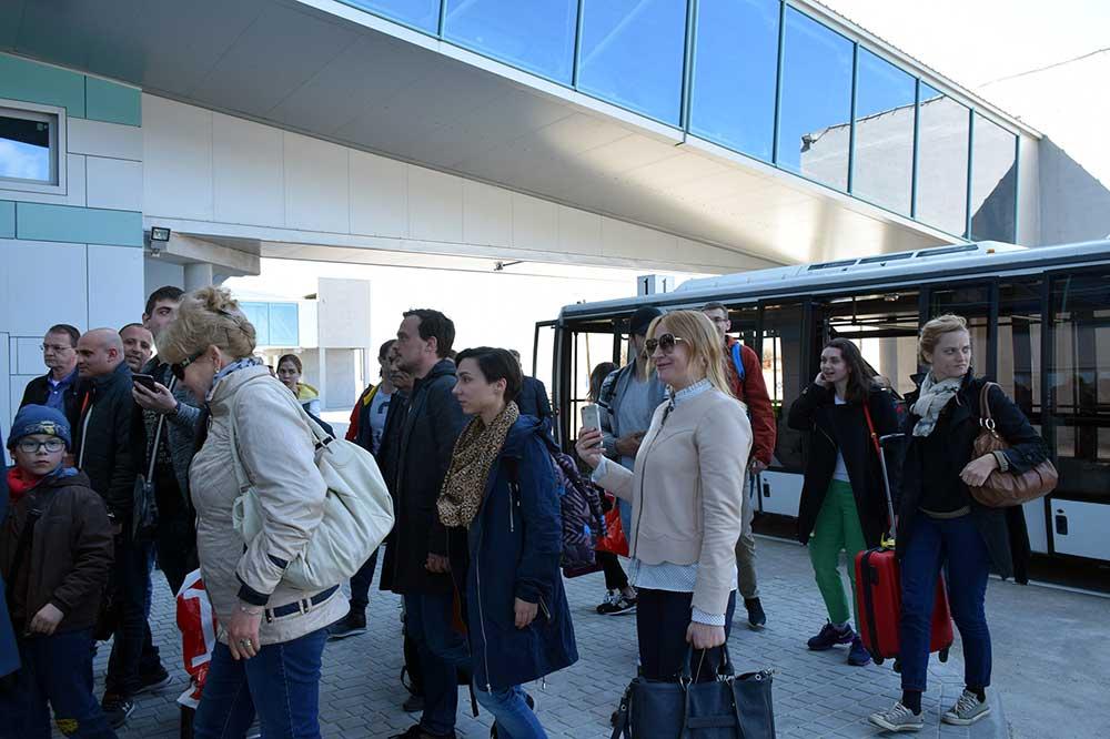 Новый терминал Международного аэропорта Одесса принял первых пассажиров