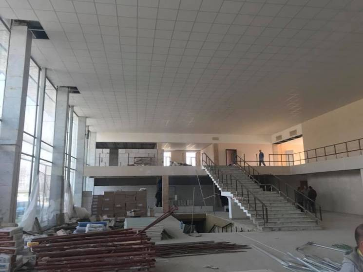 Как аэропорт Полтавы готовят к первым рейсам