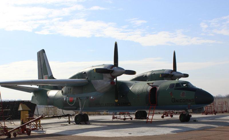 ГП «Завод 410 ГА» передал очередной отремонтированный самолет иностранному заказчику