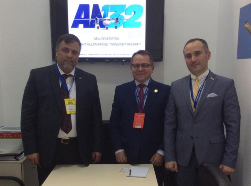 ГП «Антонов» на выставке FIDAE-2018. Поиск  заказчиков в Латинской Америке.