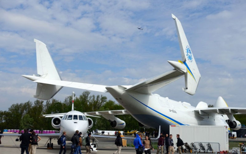 Украина на авиасалоне в Берлине