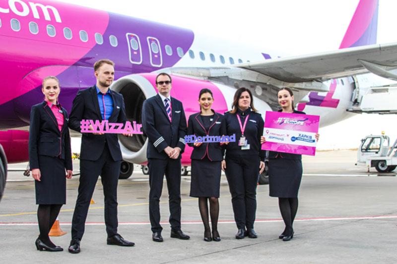Низкие тарифы Wizz Air теперь и в Харькове