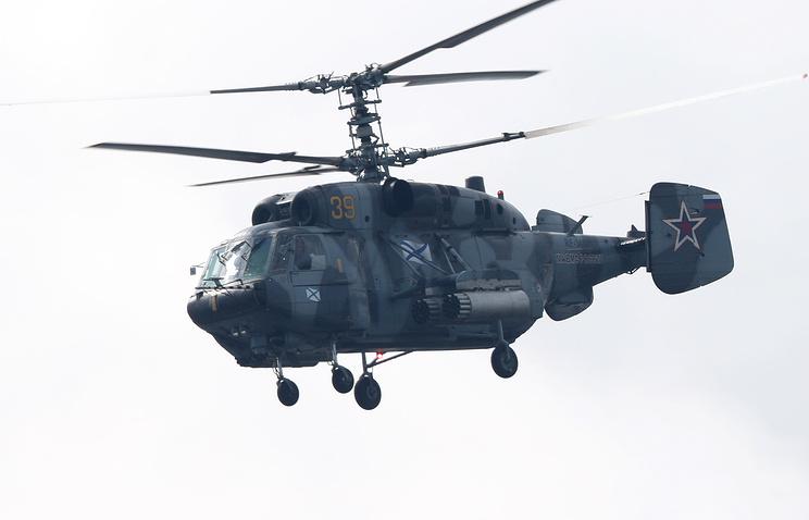 В России снова упал вертолет. Погибли 2 человека.