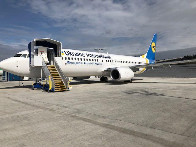 МАУ получила еще один новый Boeing 737-800 NG