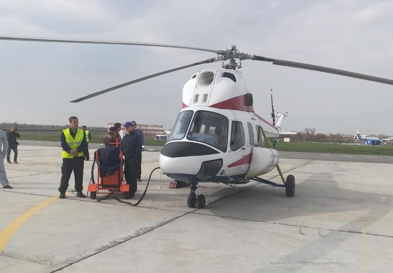 В Запорожье открыт сертифицированный вертодром