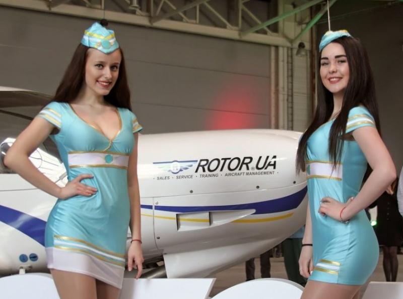 Авиацентр «Ротор Украина» отметил в аэропорту Харьков 10-летие