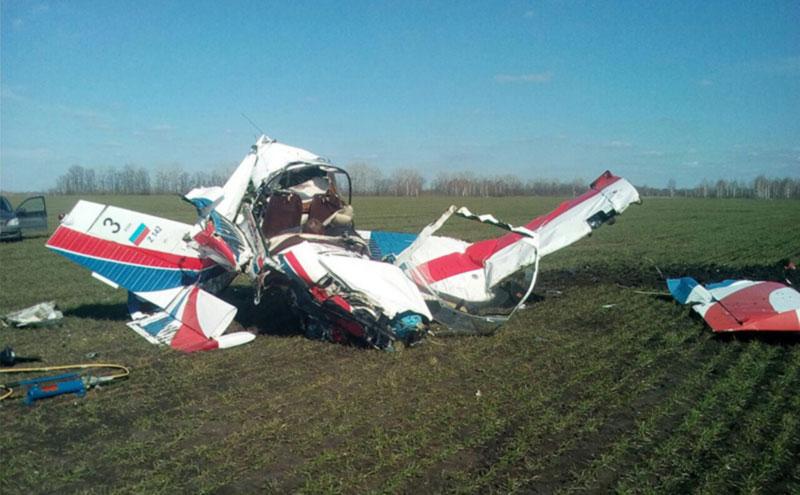 В России снова разбился самолет, есть жертвы