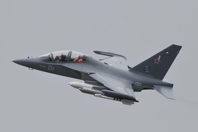 В России разбился самолет летного училища Як-130