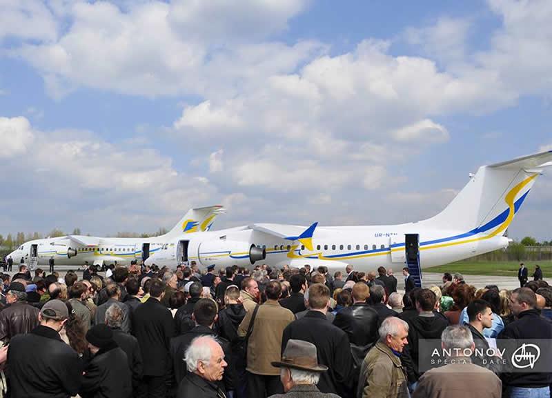 Ан-158 будет перевозить до 102 пассажиров