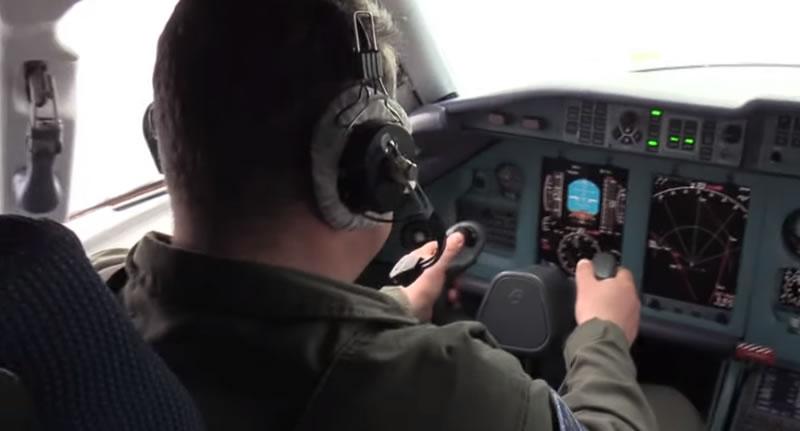"""Пилоты госпредприятия """"Антонов"""" провели сложнейшие испытания самолета"""