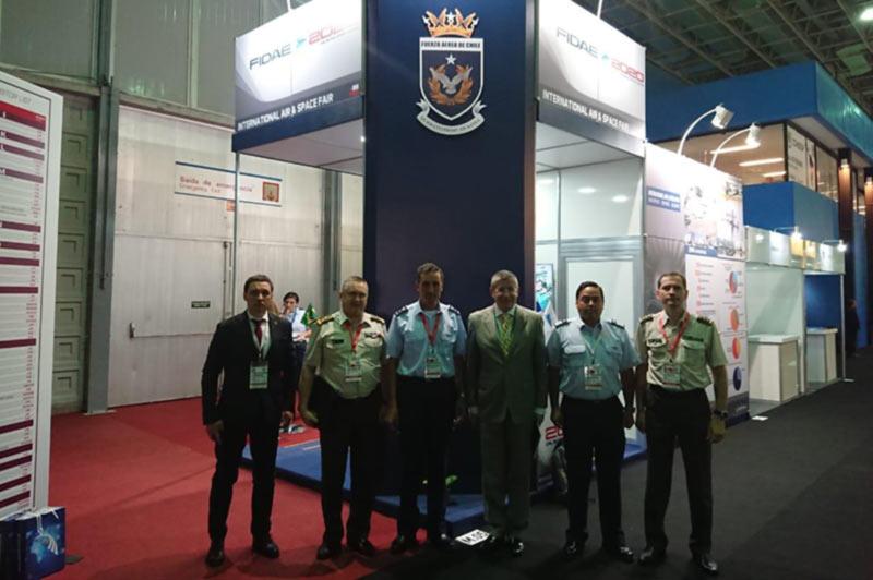 """ГП """"ЗАВОД 410 ГА""""  на Международной выставке в сфере обороны и безопасности «LAAD-2019»"""