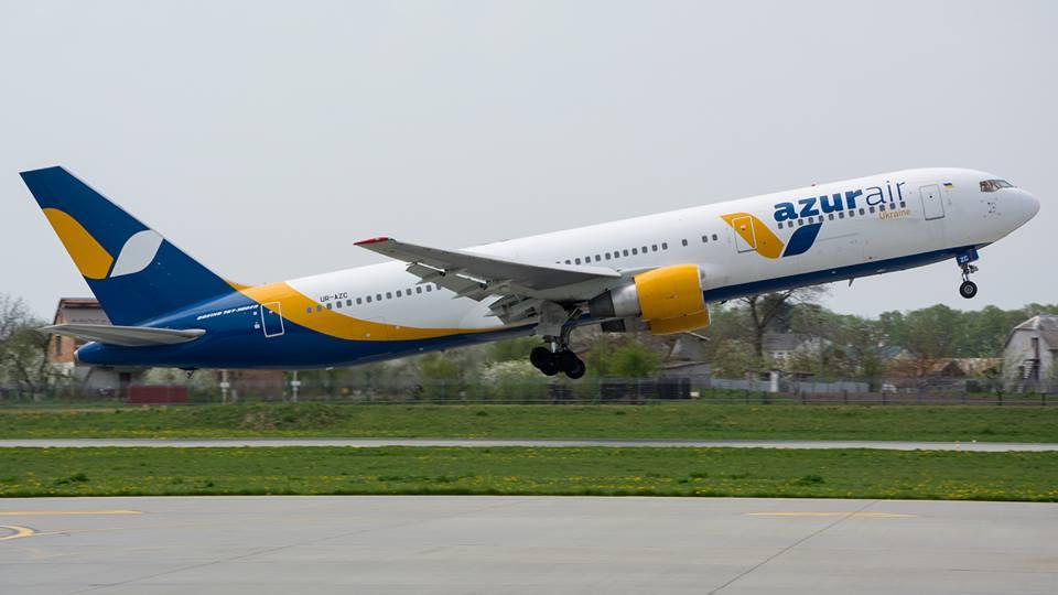 Авиакомпания Azur Air Ukraine открывает летний сезон