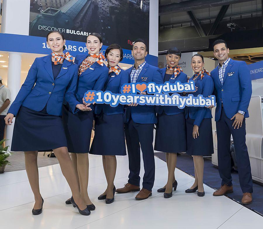 Со дня запуска в 2009 году авиакомпания flydubai перевезла более 70 млн пассажиров