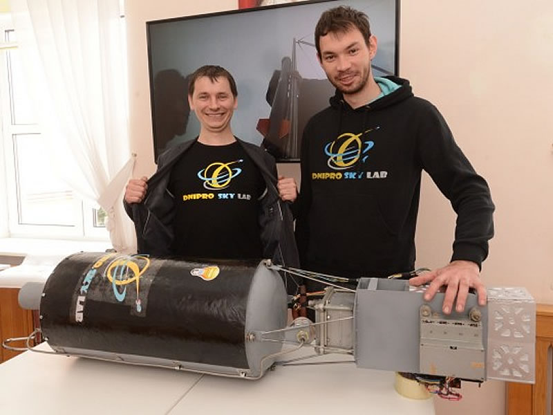 Молодые инженеры из Днепра строят ракету
