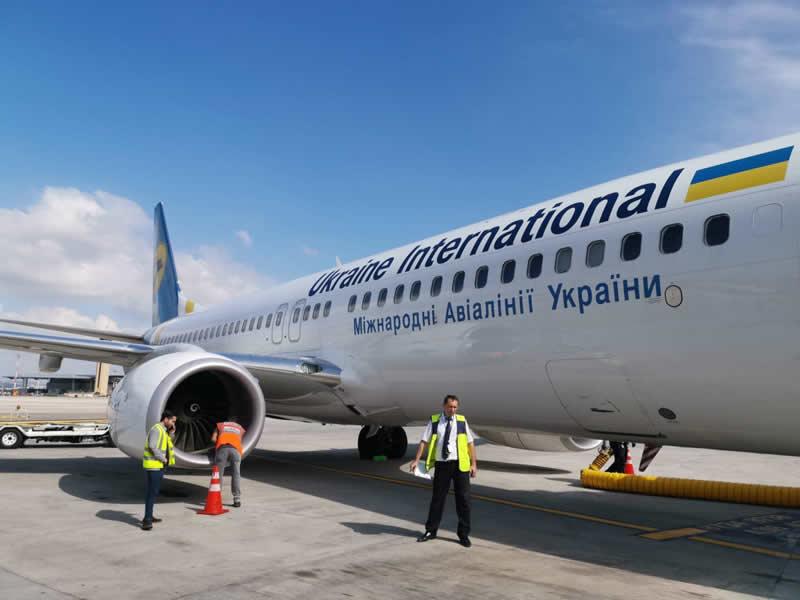 Самолет МАУ при посадке в Израиле столкнулся с птицей