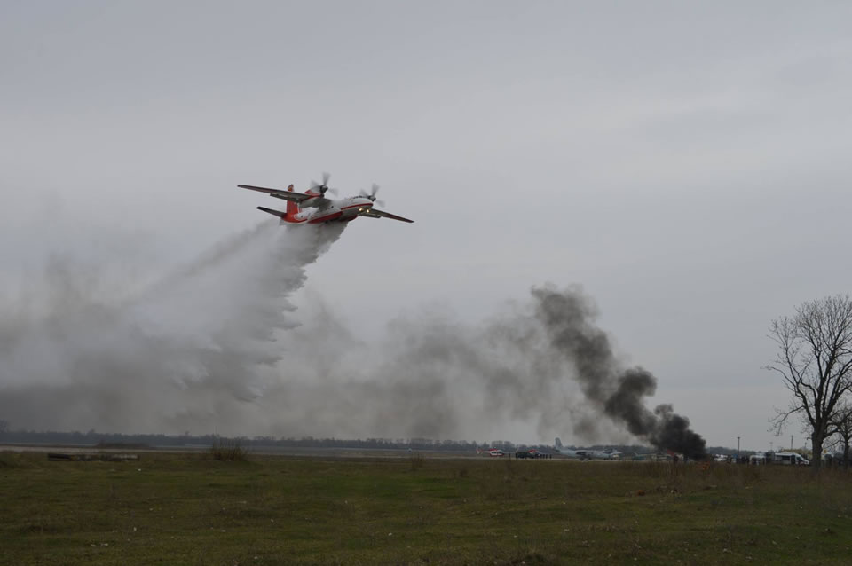 ГСЧС модернизирует связь на самолетах Ан-32П