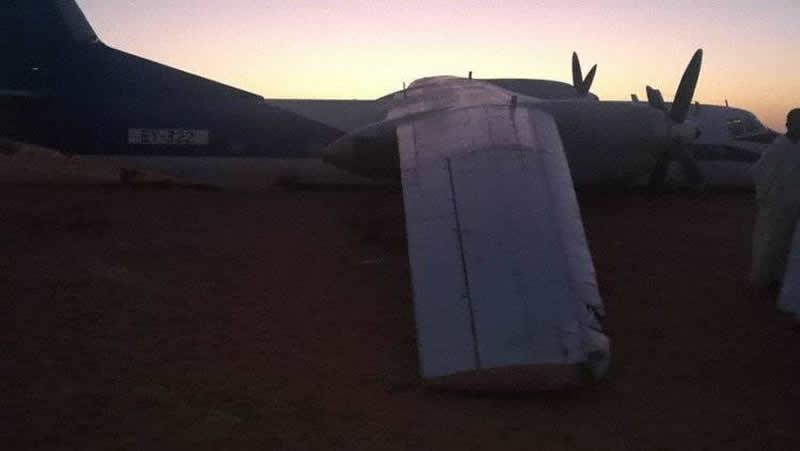 Ан-26 совершил вынужденную посадку в Африке