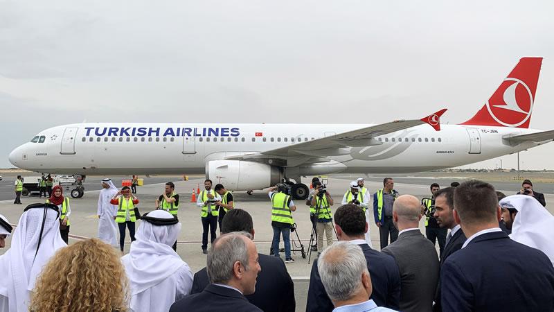 Авиакомпания Turkish Airlines добавила в свою сеть маршрутов Шарджу – третье направление в ОАЭ