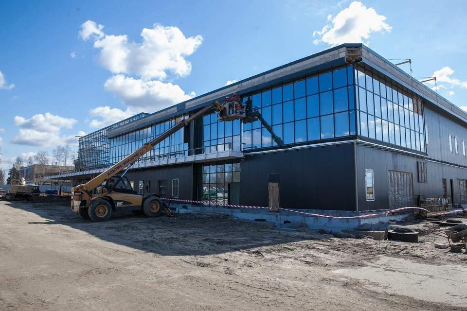 Новый терминал в Запорожье почти готов