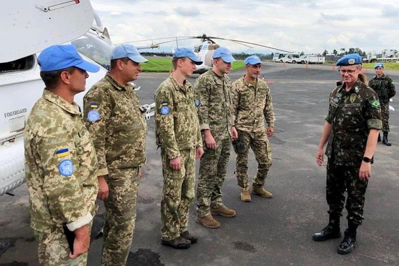 Руководство Миссии ООН высоко оценило профессионализм украинских вертолетчиков