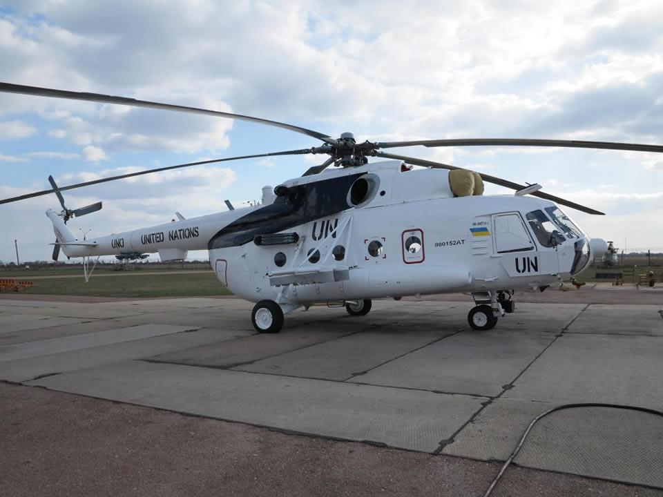 """""""Авиакон"""" передал ВСУ три модернизированных вертолета"""