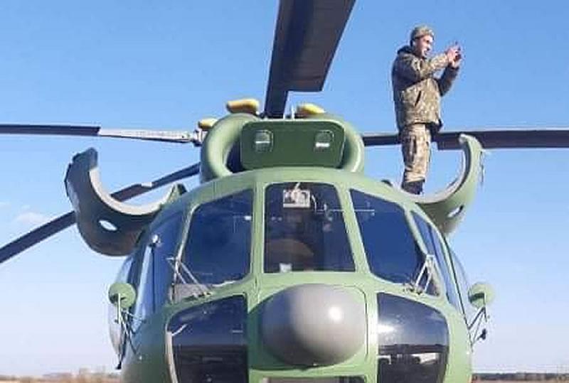 Ми-8 МСБ-В Бригады Транспортной авиации совершил вынужденную посадку