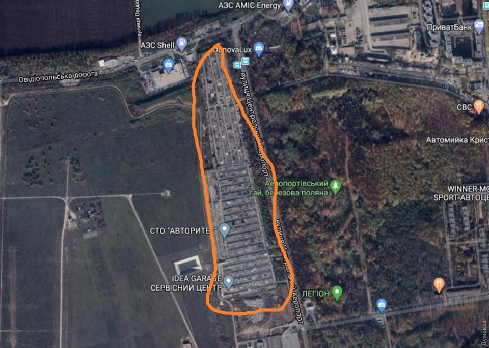 Cтроительство нового перронного комплекса аэропорта Одесса вызвало конфликт с гаражными кооперативами
