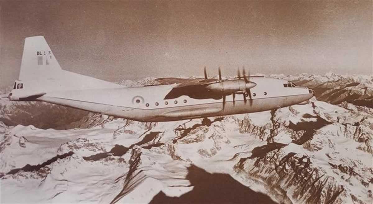 Бомбардировщики Ан-12 над Индией