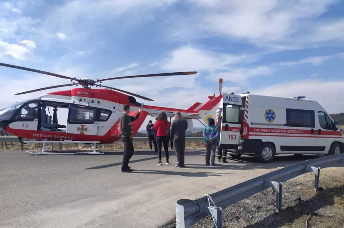 Аэромедицинская эвакуация в мае заработает в Киеве