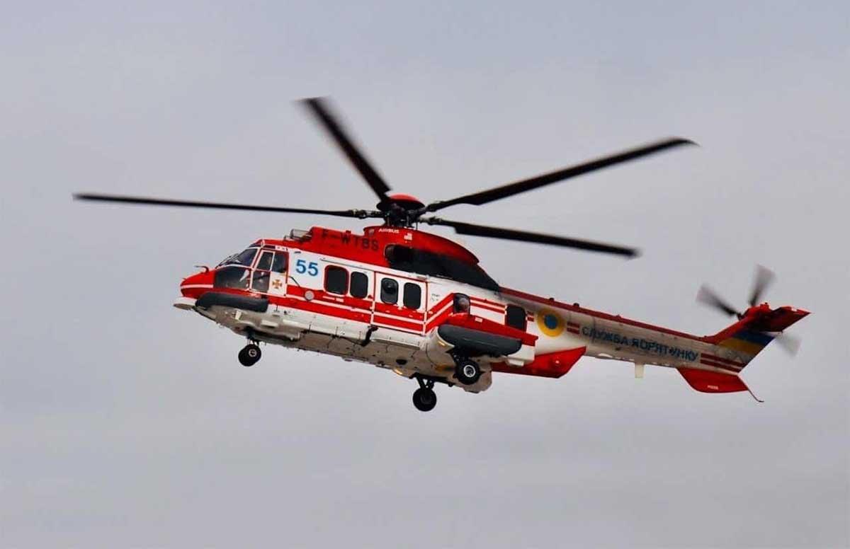 К поискам 2-летнего ребенка привлечен вертолет ГСЧС