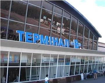 Терминал А и В в Бориспольском аэропорту демонтируют
