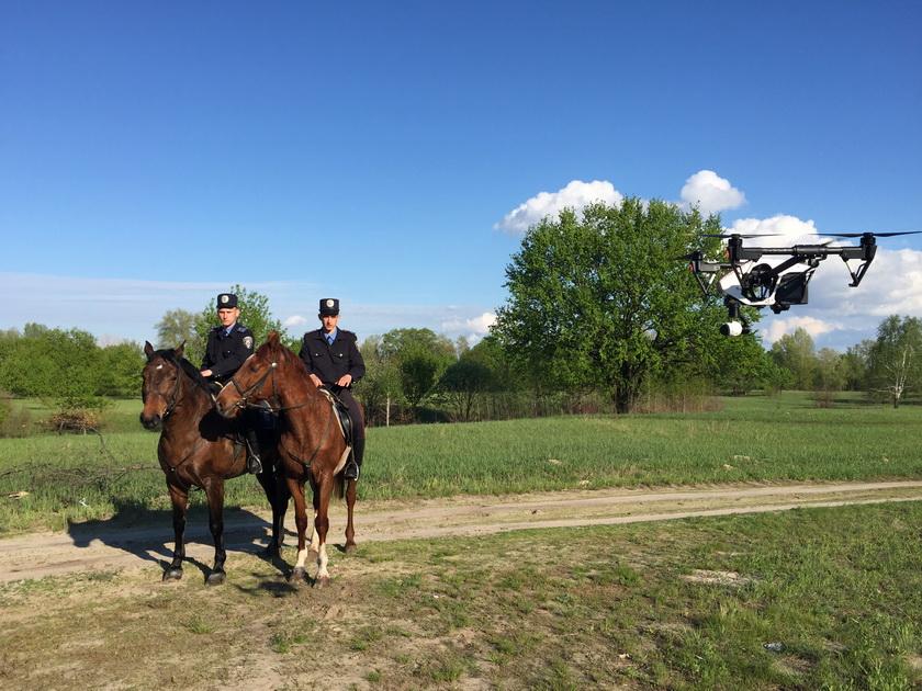 Беспилотные летательные аппараты  будут использоватьдля патрулирования территорий