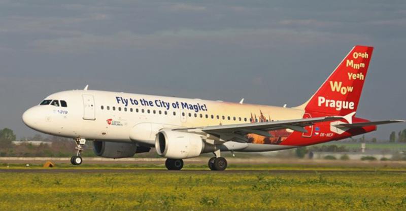Возобновлено авиасообщение между Одессой и Прагой