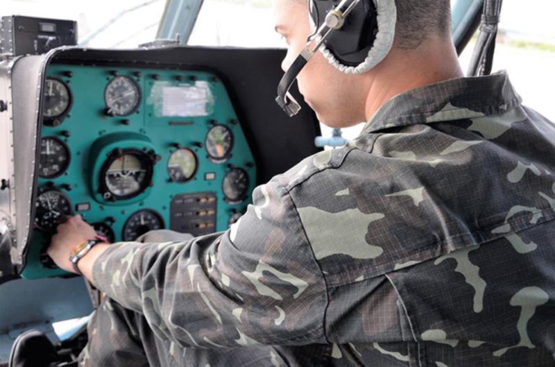 Кожедубовцы проходят практику в Бригаде транспортной авиации