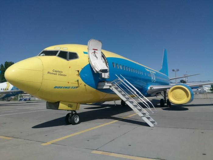 Авиакомпания Ukrainian Wings дала самолету имя погибшего в Кабуле пилота