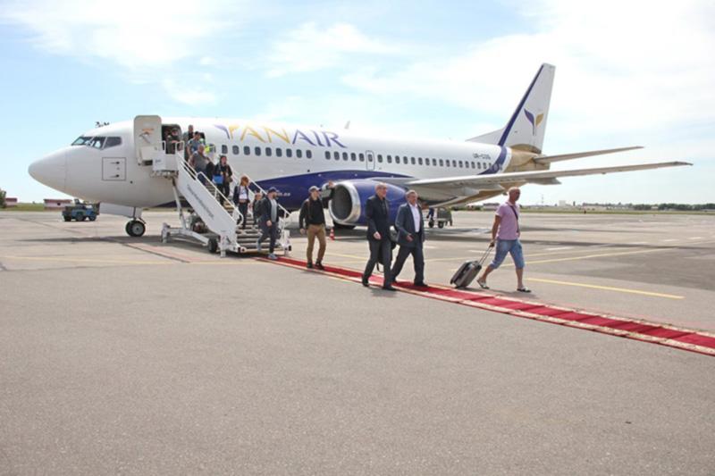 Авиакомпания Yanair совершила первый рейс Одесса-Краков