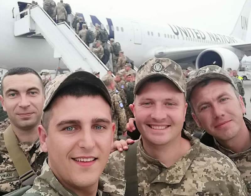 Очередная ротация 18 отдельного вертолетного отряда отправилась в Конго