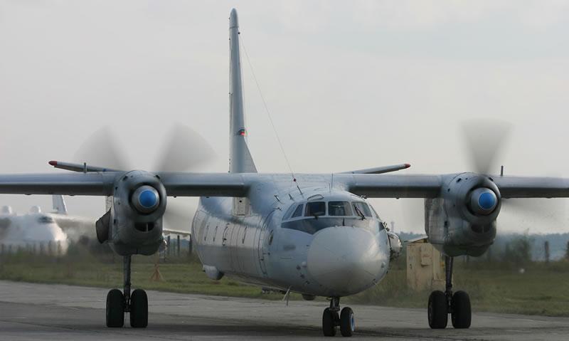 """""""ЗАВОД 410 ГА"""" передал Воздушным Силам Вооруженных Сил Украины самолет Ан-26 после капитального ремонта"""